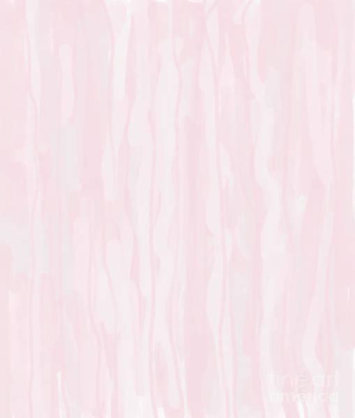 Digital Art - Pink And White Softness by Annette M Stevenson