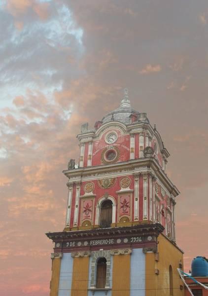 Wall Art - Photograph - Pink Architectural Delight Guatemala by Douglas Barnett
