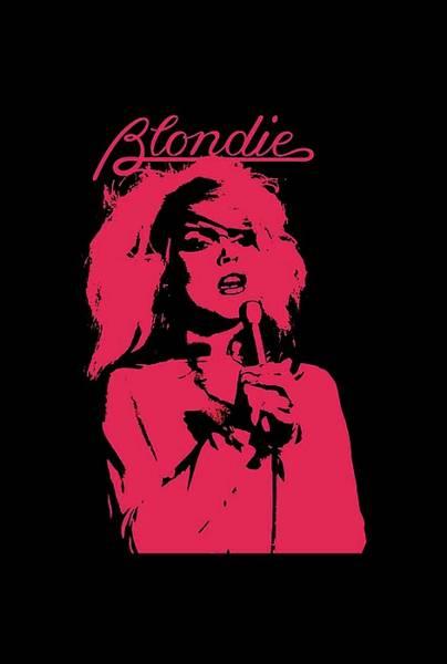 Blondie Digital Art - Pink Blondie by Faleshia Bandriya