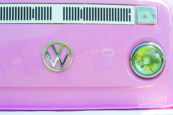 Wall Art - Photograph - Pink Camper by Tim Gainey