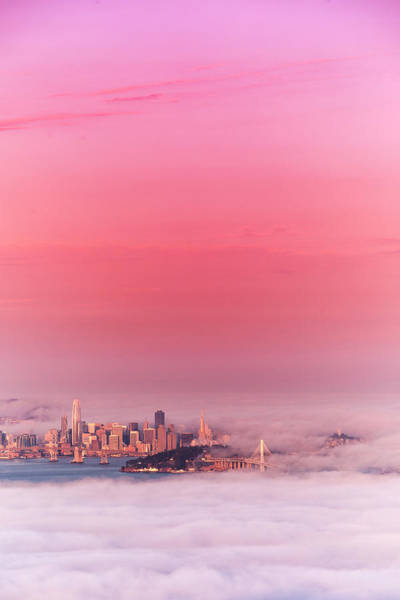 Wall Art - Photograph - Pink Dream, San Francisco by Vincent James