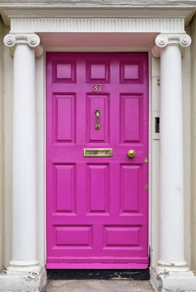 Photograph - Pink Dublin Door by Georgia Fowler