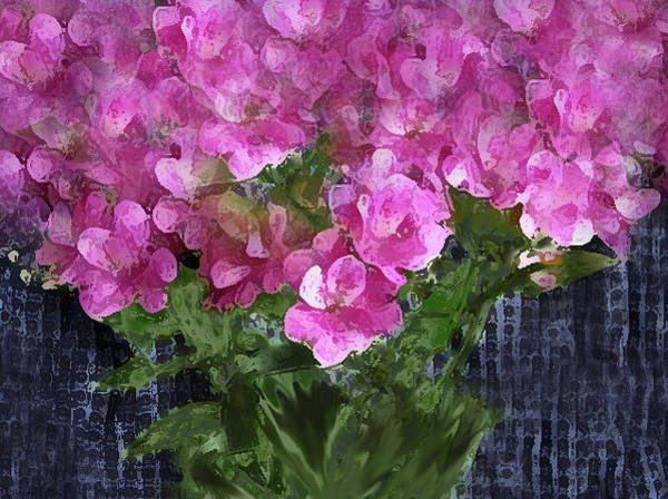 Photograph - Pink Flowers Of The J Collection by Corinne Carroll