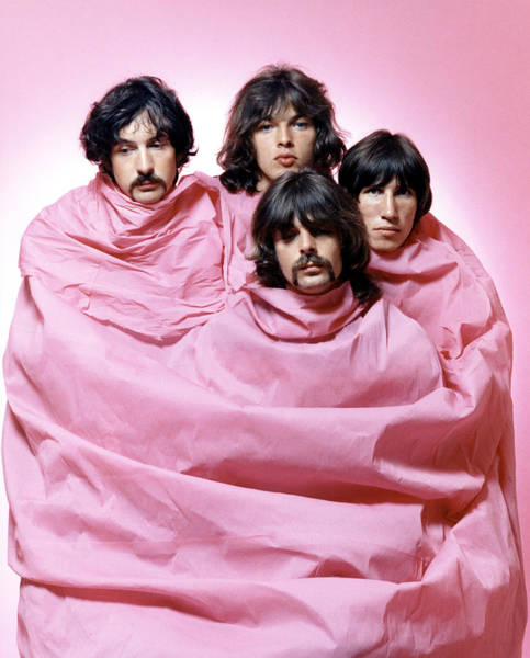 City Of David Photograph - Pink Floyd In Pink by Michael Ochs Archives