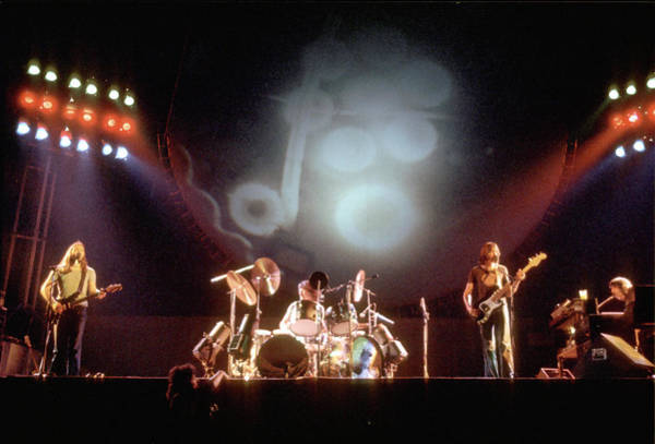Wall Art - Photograph - Pink Floyd Live In La by Michael Ochs Archives
