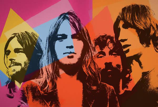 Painting - Pink Floyd Pop Art by Dan Sproul