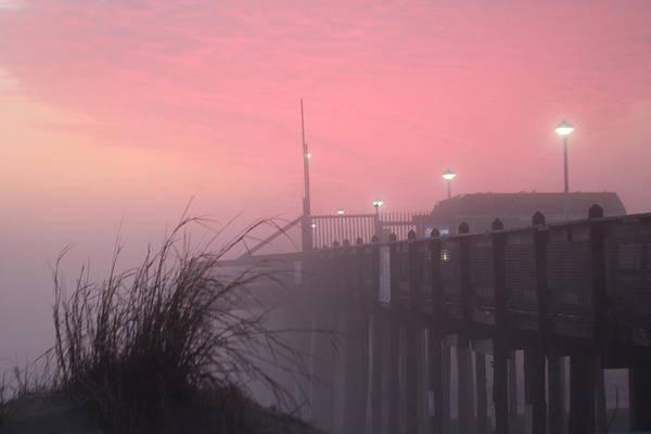 Photograph - Pink Fog At Dawn by Robert Banach