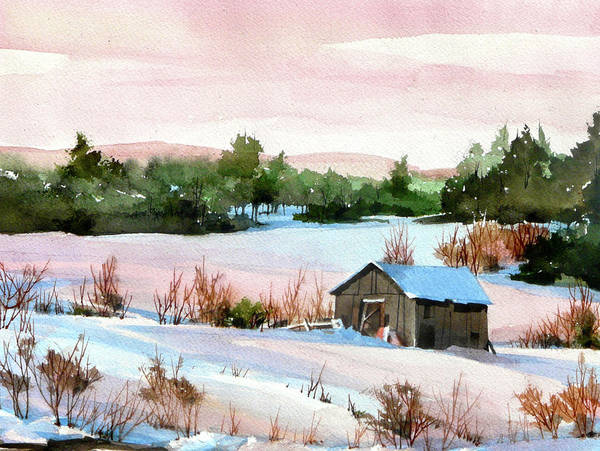 Pink Glaze Art Print by Art Scholz
