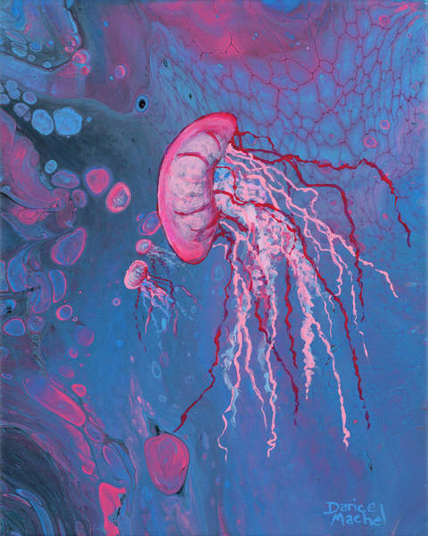 Painting - Pink Jelly by Darice Machel McGuire