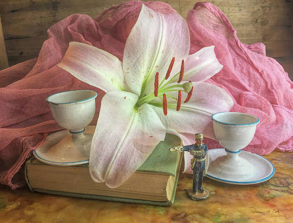 Photograph - Pink Lily Still Life by Bellesouth Studio