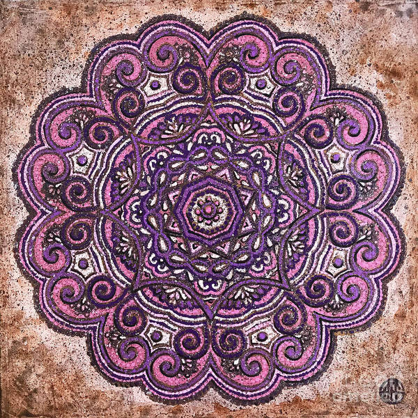 Painting - Pink Mandala by Amy E Fraser