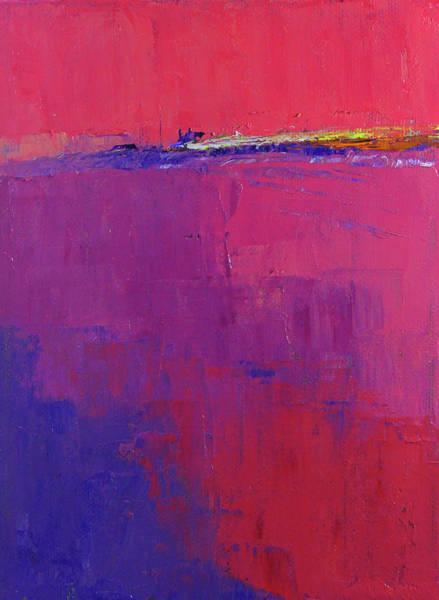 Wall Art - Painting - Pink Ocean by Nancy Merkle