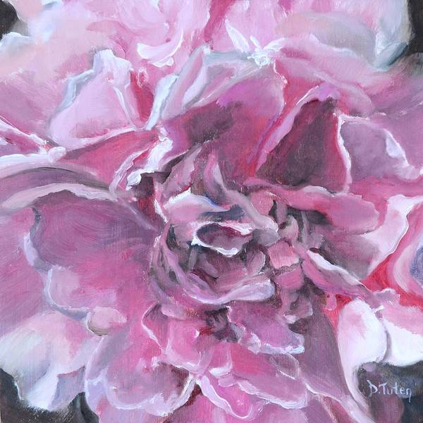 Painting - Pink Peony Painting by Donna Tuten