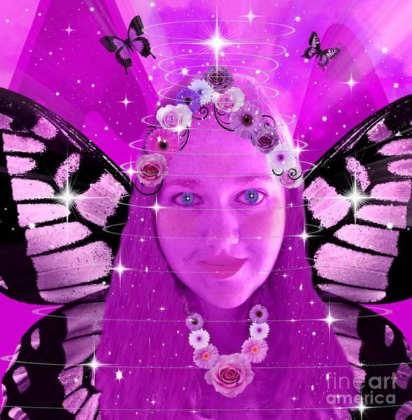 Digital Art - Pink Promises by Diamante Lavendar
