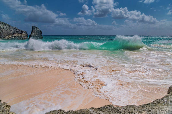Wall Art - Photograph - Pink Sand Beach Bermuda by Betsy Knapp