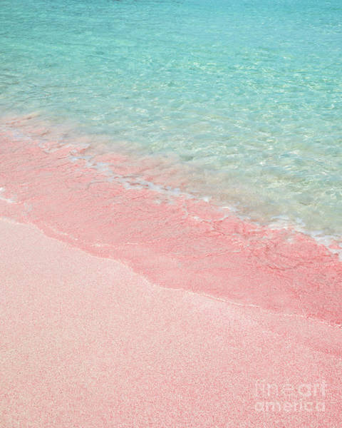 Wall Art - Photograph - Pink Sand Beach by Delphimages Photo Creations
