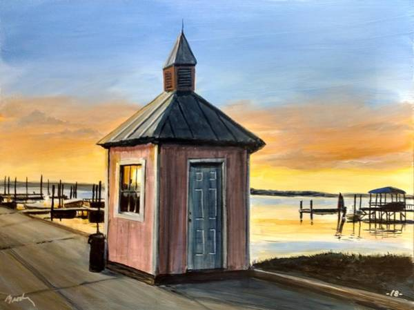 Painting - Pink Shed by William Brody