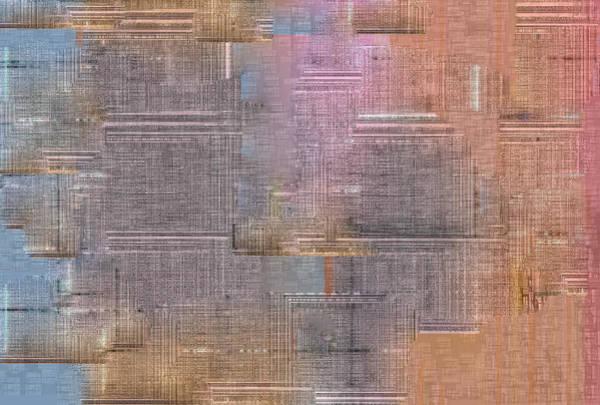 Digital Art - Pink Skin Abstract by Artist Dot