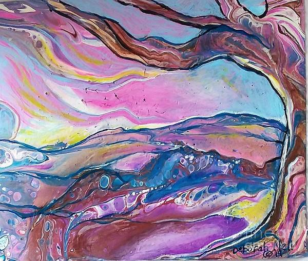 Painting - Pink Sky by Deborah Nell