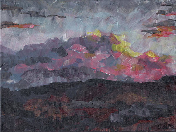 Painting - Pink Sky Delight by Susan Moore