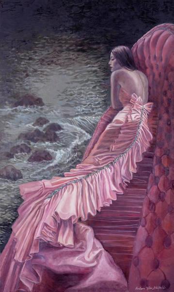 Pink Taffeta Art Print by Barbara Tyler Ahlfield