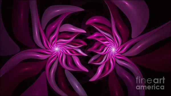 Digital Art - Pink Twist by Doug Morgan
