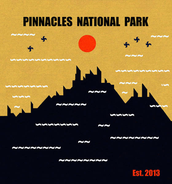 Wall Art - Mixed Media - Pinnacles N. P. M Series by David Lee Thompson