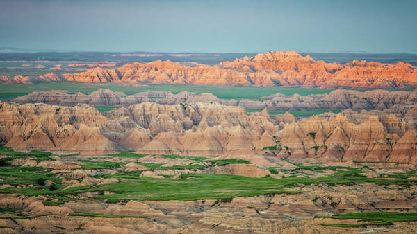 Wall Art - Photograph - Pinnacles Overlook Badlands National Park South Dakota by Joan Carroll