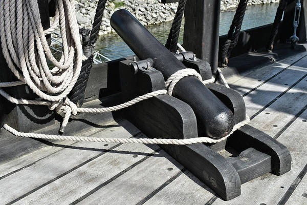 Photograph - Pinta Ship Cannon by Kathy K McClellan