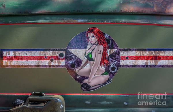 Photograph - Pinup Girl by Tony Baca