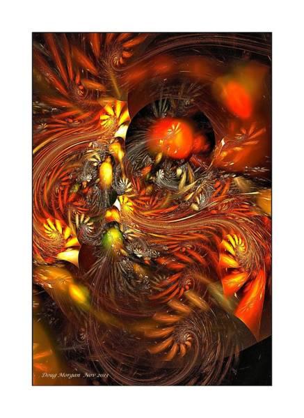 Digital Art - Pinwheel Harvest by Doug Morgan