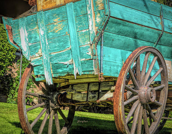 Photograph - Pioneer Freight Wagon by Floyd Snyder