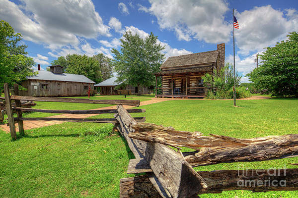 Wall Art - Photograph - Pioneer Heritage Homestead by Larry Braun