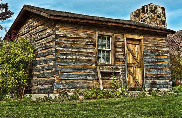 Camera Raw Photograph - Pioneer Homestead by Brenton Cooper