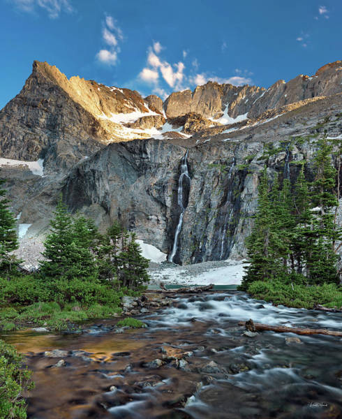 Pioneer Mountains Wall Art - Photograph - Pioneer Mountains Above Kane Lake by Leland D Howard