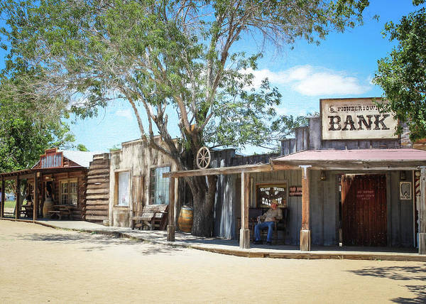 Photograph - Pioneertown - Old West by Alison Frank