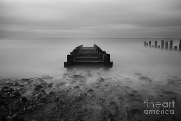 Barmouth Photograph - Pipe Cradle by David MM Williams