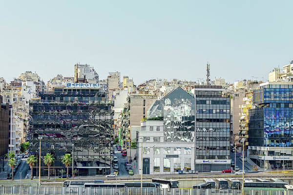 Photograph - Piraeus, Athens Port City, Greece by Kay Brewer