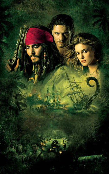 Wall Art - Digital Art - Piratas Do Caribe O Bau Da Morte by Geek N Rock