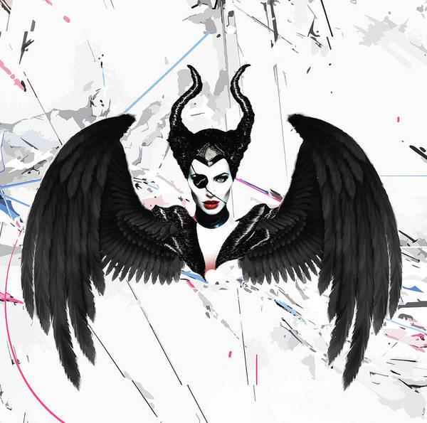 Maleficent Digital Art - Pirate Maleficent by Isaac Muraya