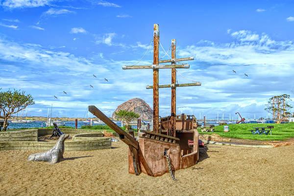 Photograph - Pirate Ship At Morro Rock Large by Floyd Snyder