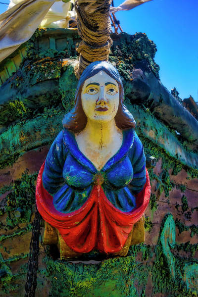 Wall Art - Photograph - Pirate Ship Figurehead by Garry Gay