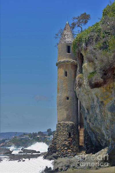 Wall Art - Photograph - Pirate Tower At Laguna Beach by Suzanne Wilkinson