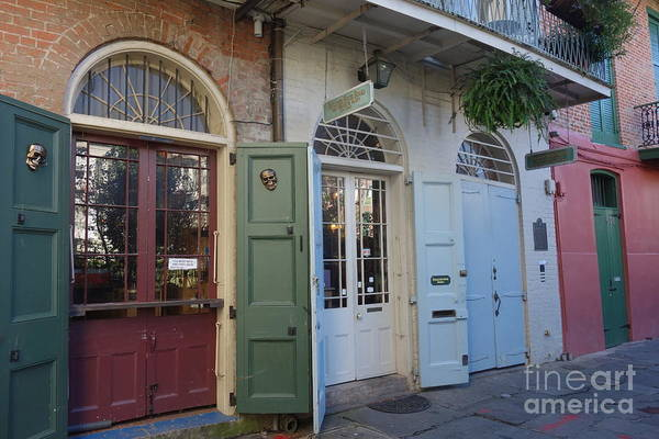 Photograph - Pirates Alley  -  French Quarter  New Orleans by Susan Carella