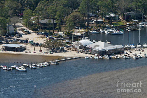 Photograph - Pirates Cove - Natural by Gulf Coast Aerials -