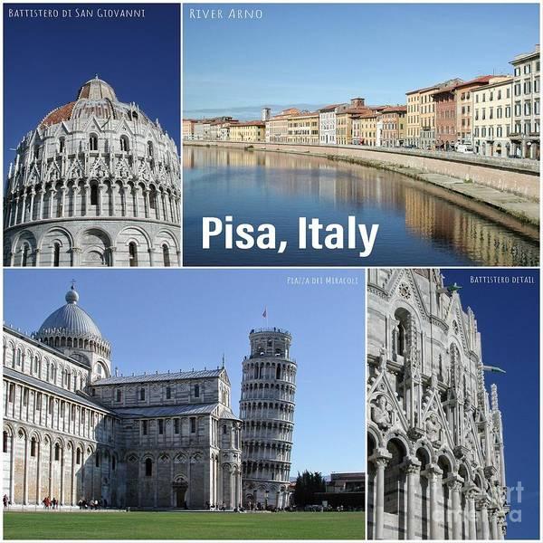 Wall Art - Photograph - Pisa Italy by John Edwards