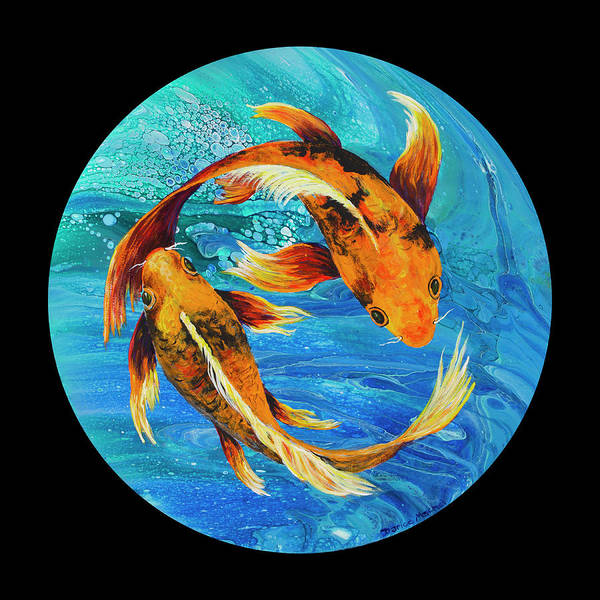 Painting - Pisces  by Darice Machel McGuire