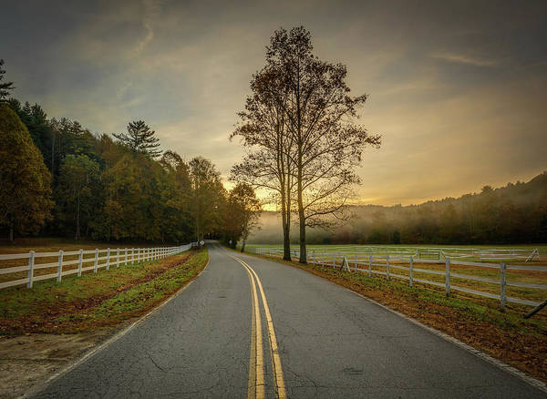 Photograph - Pisgah Forest Mountain Farm Road by Donnie Whitaker