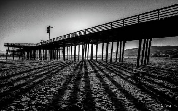 Photograph - Pismo Beach Pier by Mike Long