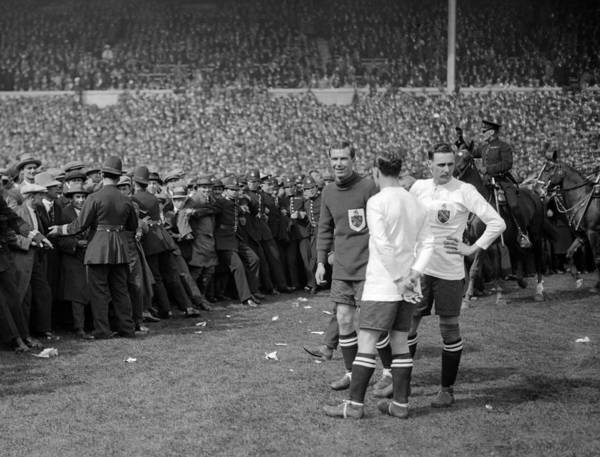 1923 Photograph - Pitch Invasion by Henry Guttmann